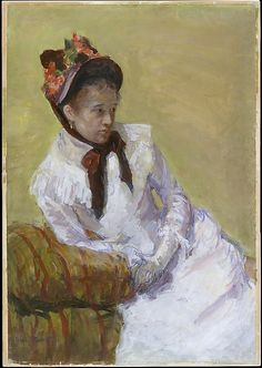 Mary Cassatt (American, 1844–1926). Portrait of the Artist, 1878. The Metropolitan Museum of Art, New York. Bequest of Edith H. Proskauer, 1975 (1975.319.1) | Cassatt painted this self-portrait, one of only two known, a year after Edgar Degas invited her to exhibit with the Impressionists.