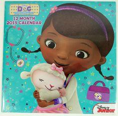 Disney Doc McStuffins 2015 Calendar #docmcstuffins2015calendarforsale
