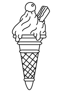 Ice Cream Coloring Pages for Free Download httpprocoloringcom