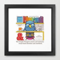 The Graphic Designer Framed Art Print