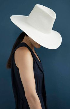 Clyde Straw Panama Pinch Hat