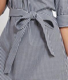 Vineyard Vines Gingham Harbor Shirt Dress.
