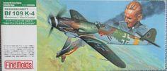 Fine Molds 1/72 Kit WW2 German Messerchmitt Bf109K-4 Fighter
