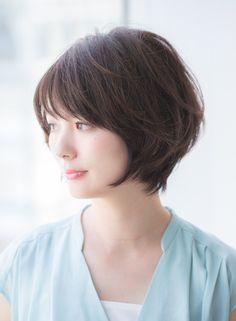 大人女子に似合うひし形ショート2017(髪型ショートヘア)