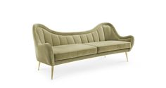 HERMES 2 Seater Sofa Modern Contemporary Furniture by BRABBU  is the result of a message that travelled through time.