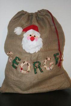 Traditional Personalised Christmas Sack: £24.99