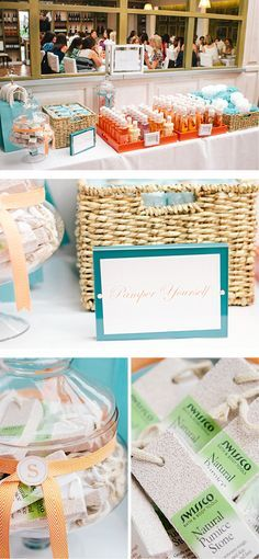 Bridal Shower Beauty Bar