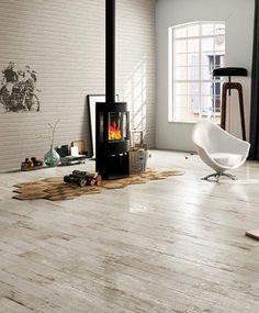 Bistrot Beige 47,8 x 47,8cm - Natural finish rectified porcelain wood effect floor tile