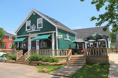 Landmark Cafe is located in scenic Victoria by the Sea, Prince Edward Island. Specializing in homemade meals, unique atmosphere and friendly service. Enjoy a PEI Lobster Feast. Lobster Feast, Prince Edward Island, Restaurants, Canning, House Styles, Outdoor Decor, Home Decor, Kitchens, Diners