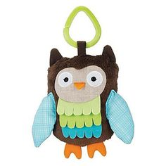 owl clip on toy