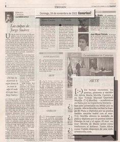 Canarias 7 / 24 de noviembre de 2002 Domingo, 24 de noviembre de 2002/ Pg.6 OPINIÓN Alicia Morilla y T.Q.Morilla premiados en Milán por su poesía CANARIAS 7 Las Palmas de Gran Canaria A R T E URL http://www.artemorilla.com/index.php?ci=110