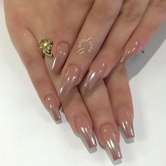 A manicure is a cosmetic elegance therapy for the finger nails and hands. A manicure could deal with just the Fabulous Nails, Perfect Nails, Gorgeous Nails, Best Acrylic Nails, Acrylic Nail Designs, Nail Art Designs, Chrome Nails Designs, Long Nails, My Nails