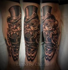 Gentlemanowl17 by gettattoo