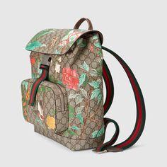 cf9638018141 Gucci Tian GG Supreme backpack - Gucci Men's Backpacks 405019K0L3N8690 Gucci  Men, Gucci Gucci,