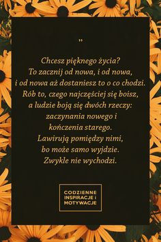 #cytat #poezja #motywacja #popolsku #sentencje #inspiracje Question And Answer, This Or That Questions, In Other Words, Change Quotes, True Stories, Sentences, Best Quotes, Quotations, Coaching