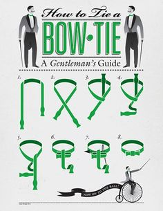 How to tie a bow-tie: a gentleman's guide