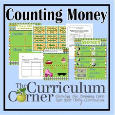 Counting Money Acitivites for the Classroom