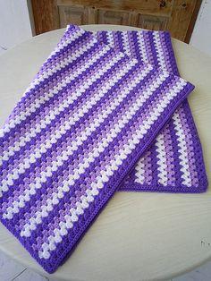 granny stripe blanket   Flickr - Photo Sharing!