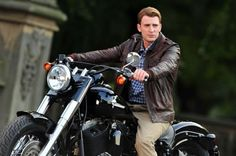 Captain America on a motorcycle... ok I'm done.