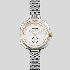 THE GOMELSKY 36mm Stainless Steel Band Watch | Shinola®