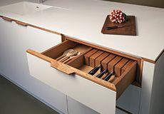 Islington Showroom Plywood Kitchen, Bespoke Kitchens, Corian, Cabinet Makers, Work Tops, Cladding, Herringbone, Shoe Rack, Showroom