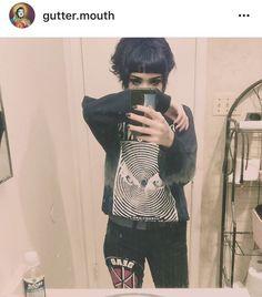 Gutter.mouth short hair punk