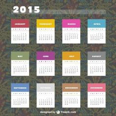 Best collection of free calendar vector templates for Free Calendar, 2015 Calendar, April March, Kids Artwork, Paper Quilling, Vector Free, Photoshop, Templates, Labels Free