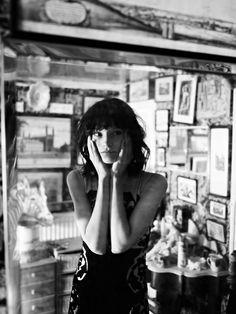 Silver Angel   Dorothea Barth Jörgensen   Annemarieke van Drimmelen #photography   Lula 15 Fall Winter 2012, black & white, memories