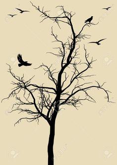 tree stencil - Google Search