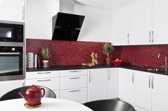 Modernt kök. Modell: Safir, Färg: Vit ask   NordDesign Kök Kitchen Cabinets, Vit, Design, Home Decor, Decoration Home, Room Decor, Cabinets, Home Interior Design