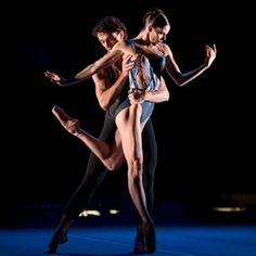 Gary Avis and Darcy Bussell in DGV - Royal Ballet