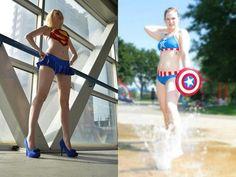Superhero Bikinis