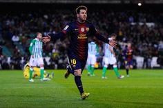 Lionel Messi: 26 años, 26 momentos | El gol con el que superó a Gerd Müller ( diciembre 2012). 86 tantos en un año calendario.