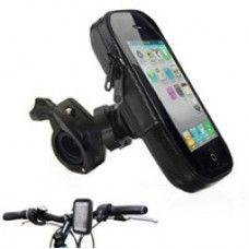 Telefon tartó kerékpár - bicikli - motor - érintő képernyő kívülről is kezelhető - remek telefonos kiegészítő