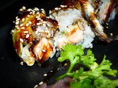 Kibuka Bcn  Sushi de anguila
