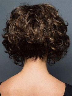 Curly Hair Long In Front Short In Back - Best Short Hair Styles #LongCurlyHair #NaturalCurlyHair