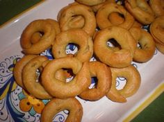 Taralli - Italian Bread Rings, I like to add black pepper or crushed red pepper.