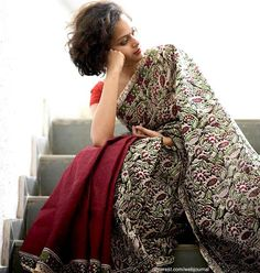 Kalamkari Saree by Suta