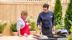 Test cook Dan Souza makes host Julia Collin Davison perfect Grill-Smoked and . Well Done Burger, Fresh Fruit Tart, Perfect Grill, How To Cook Burgers, Flat Iron Steak, Grilling Tips, Grilling Recipes, Grilled Steak Recipes, Smoke Grill