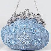Beaded blue purse so cute! Vintage Purses, Vintage Bags, Vintage Handbags, Vintage Outfits, Vintage Shoes, Vintage Accessories, Wedding Accessories, Fashion Accessories, Beaded Purses