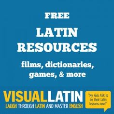 Download free lessons! An engaging video-driven Latin homeschool curriculum that delights students and parents.