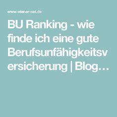 BU Ranking - wie finde ich eine gute Berufsunfähigkeitsversicherung | Blog…