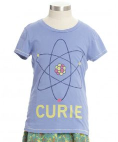 Love this collection of girls tees that honor smarts, not sass. More like this!