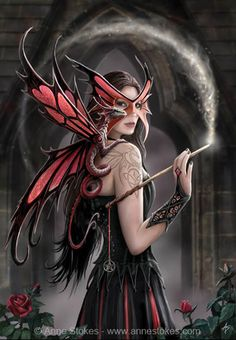 calice anne stokes dragon beauty