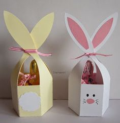 Diamantin's hobby world: Easter Bunny - Basteln Ostern - John craft Easter Projects, Easter Crafts, Spring Crafts, Holiday Crafts, Happy Easter, Easter Bunny, Bunny Bunny, Diy For Kids, Crafts For Kids