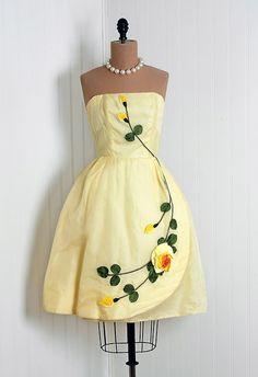 1950s dress via Timeless Vixen Vintage on Etsy