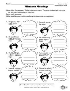 Worksheet Ramona Quimby Age 8 Worksheets ramona quimby comprehension and game on pinterest placeholder the pest