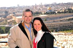 Pastor John and Kendal Hagee in Israel
