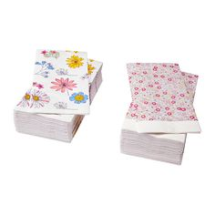 SOMMARLOV Paper napkin IKEA The napkin is highly absorbent because it's made of three-ply paper.