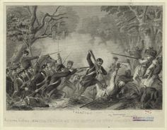 Remembering the Battle of Negro Fort, one of the most important and forgotten events in U.S. history, 200 years later        Illustration of the Battle of Lake Okeechobee, a major battle in the Second Seminole War. Dated from 1837.